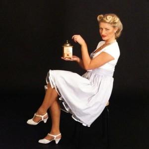 Fünfziger Jahre Hausfrau